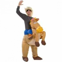 Cowboy Inflatable Costume Photo