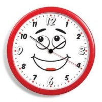 Anchorman Clock With Moving Eyes Photo