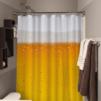Doctor Who Beer Shower Curtain Photo