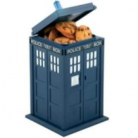 Doctor Who Tardis Lights and Sounds Cookie Jar Photo