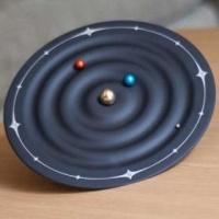 Lego Orbit Space Clock Photo