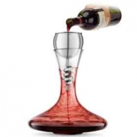 Final Touch Stainless Steel Twister Aerator and Decanter Set Photo