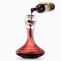 Final Touch Twister Glass Aerator and Decanter Set Photo