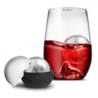 Final Touch Grand Rock Highball Glass and Ice Ball Mould Photo