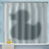 VW Shadow of the Duck Shower Curtain Photo
