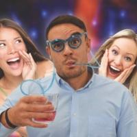 Thames and Kosmos Drinking Straw Glasses Photo