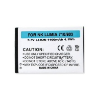 Nokia ASHA 303 Cell Phone Battery Rechargable Battery - Replacement For Lumina 303 Cellphone Battery Photo