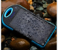 Not known 5000mAh Portable Waterproof Solar Charger Dual USB External Battery Power Bank Photo