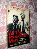 All the President's Men Carl Bernstein & Bob Woodward Photo