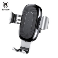Baseus Wireless Car Mount Fast Charger Photo