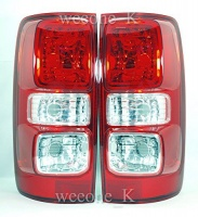 Thailand 1 Pair Rear Taillights Tail Light Lamps Normal Type For Chevrolet / Holden Colorado 2012-2015 Photo