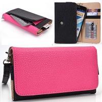 EnvyDeal Black/Hot Pink Huawei Mate S 5.5 Y6 Pro Y5II / Y5 2 Y625 Y635 Huawei P10 P9 P8lite P8 Huawei SnapTo 5.0 Case   Cell phone Wallet & Wristlet for Women Photo
