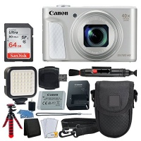 Canon PowerShot SX730 HS Digital Camera 32GB Memory Card Deluxe Point & Shoot Case USB Card Reader Memory Card Wallet Table Top Tripod 5 Piece Cleaning Kit Full Accessory Bundle Photo