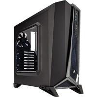 Corsair CC-9011084-WW CARBIDE SERIES SPEC-ALPHA MID-TOWER BLK & SILVER GAMING CASE PC case Photo