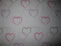 Cynthia Rowley Hearts Sheet Set Twin Photo
