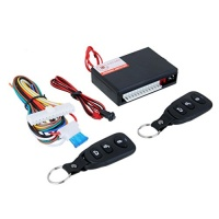 Jili Online Universal Car Keyless Entry System Electric Door Lock Locking Alarm Remote Central Kit with 2 Remote Controllers and Wire for Vehicle Vans SUV Truck Photo