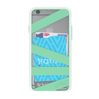 Loop Straitjacket Case for Apple iPhone 6/6s - White /Mint Photo