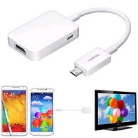 FastSun Micro USB MHL 2.0 To HDMI HDTV Adapter Cable For Samsung Galaxy S4 S5 Note Photo