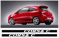 SN styling Opel Corsa C side decal stripe Photo