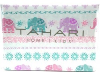 Tahari Home Kids Colorful Elephants Floral Pastel Full Sheet Set Photo