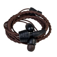 WRAPS Wristband Headphone - Fabric Brown Photo