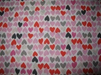 ZZZ's Lotta Love Hearts Twin Sheet set Photo