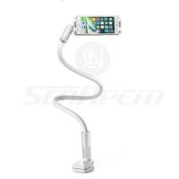"Xemz 2"" 1 Desk Lamp Cell Phone Holder Stand - Flexible 30/40"" Gooseneck Arm Universal Desktop Mount Holder for iPhone Samsung Sony Blackburry Huawei HTC etc - Photo"