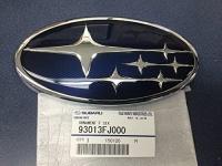 SUBARU 2012-2014 Impreza & Crosstrek Front Grille Star Emblem Decal OEM Genuine Photo
