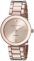Anne Klein Women's AK/1362RGRG Rose Gold-Tone Diamond-Accented Bracelet Watch Photo