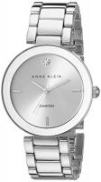 Anne Klein Women's AK/1363SVSV Diamond Dial Silver-Tone Bracelet Watch Photo