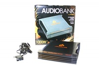 Audiobank P1000.2 1000W 2-Ohm Stable 2 Channel Stereo Amplifier Photo