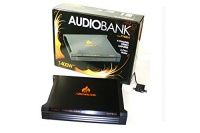 Audiobank P1400.4 1400W 2-Ohm Stable 4 Channel Stereo Amplifier Photo