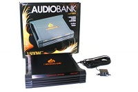 Audiobank P1500.1 1500W 2-Ohm Stable 2 Channel Stereo Amplifier Photo