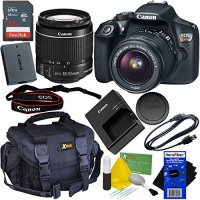 Canon EOS Rebel T6 Digital SLR Camera with EF-S 18-55mm IS 2 Kit Accessory Bundle Photo