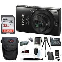 Canon PowerShot ELPH 190 IS 20 MP Digital Camera w/ 32GB Accessory Bundle Photo
