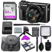 Canon PowerShot G7 X Mark 2 Digital Camera with 32GB SD Memory Card Accessory Bundle Photo
