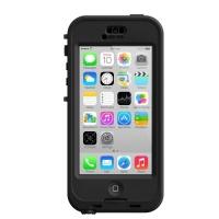 Lifeproof NÜÜD iPhone 5c Waterproof Case - Retail Packaging - BLACK/CLEAR Photo