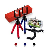 COMDY Mini Cell Phone Tripod Stand Flexible mobile phone holder Octopus Mount for iPhone Samsung Camera Photo
