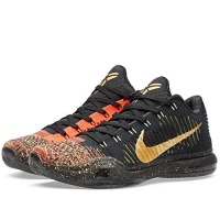 sneakers for cheap 1134f eec3b NIKE Men s Kobe X Elite Low Xmas Xmas-Black Metallic Gold-Bright Crimson