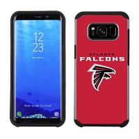 National Marketing Group Prime Brands Group Cell Phone Case for Samsung Galaxy S8 Plus - NFL Licensed Tennessee Titans Textured Solid Color Photo