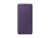 """Samsung Galaxy Official Genuine S9 Plus LED View Cover Case 6.2"""" for S9 SM-G965 EF-NG965PVEGKR Orchid Gray Photo"""