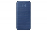 Samsung Galaxy S9 LED View Wallet Case Blue Photo