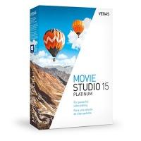 Us Magix Entertainment VEGAS Creative Software Vegas Movie Studio 15 Platinum - Powerful Tools For Video Editing Photo