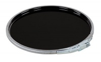 Vestil Manufacturing Corp Vestil LID-STL-LL-UN Steel UN Rated with Lever Lock Pail Lid for 5 gallon Black Photo