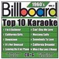 Billboard Top 10 Karaoke: 1960's Vol2 CD Photo