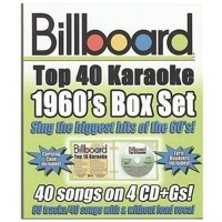 Billboard 1960'S Top 40 Karaoke Box S CD Photo