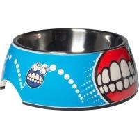 Rogz 2-in-1 Small Bubble Dog Bowl Photo