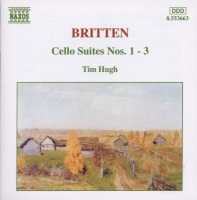 Britten: Cello Suites Nos. 1 - 3 Photo