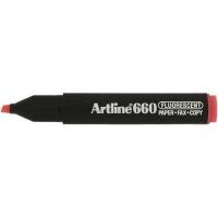 Artline EK 660 Fluorescent Chisel Tip Highlighter Photo