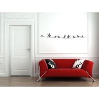 My Wall Tattoos - Birds on a Wire Photo